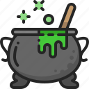 cooking, cauldron, witchcraft, pot, equipment