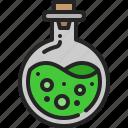 glass, drink, flask, laboratory, liquid, potion, chemistry