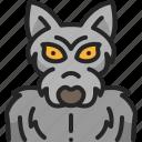 supernatural, halloween, monster, costume, wolf, werewolf