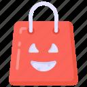 shopping, shopping bag, halloween shopping, halloween bag, tote bag