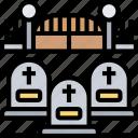 graveyard, cemetery, death, tomb, creepy