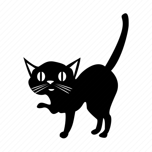animal, animals, cat, shadow, tail icon