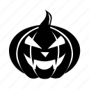 autumn, dark, fear, halloween, holiday, horror, october, pumpkin, scary, vegetable icon