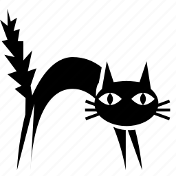 cat, halloween icon