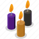 candles, decoration, halloween, horror, light, scary, spooky