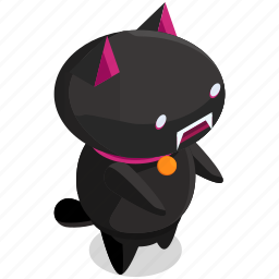 cat, halloween, horror, monster, scary, spooky icon