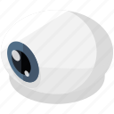 eye, eyeball, halloween, horror, scary, spooky, vision icon
