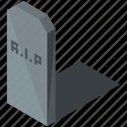 gravestone, graveyard, halloween, headstone, rip, tomb, tombstone icon