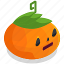 pumpkin, halloween, horror, lantern, scary, spooky, vegetable