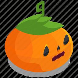 halloween, horror, lantern, pumpkin, scary, spooky, vegetable icon