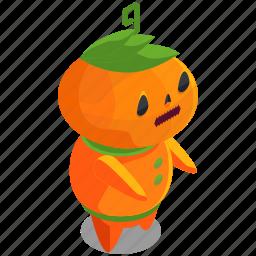 halloween, horror, monster, pumpkin, scary, spooky icon