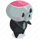 avatar, death, halloween, horror, monster, scary, skeleton icon