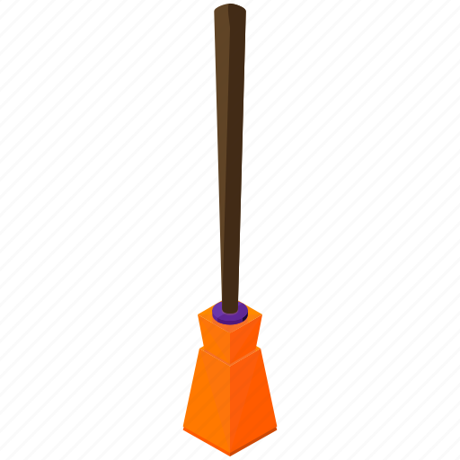 broom, halloween, horror, scary, spooky, witch icon