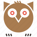 bird, halloween, hoot, horror, night, owl, spooky