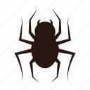 accessories, halloween, spider icon