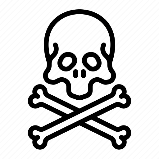 bone, bones, crossbones, halloween, pirate, scull icon