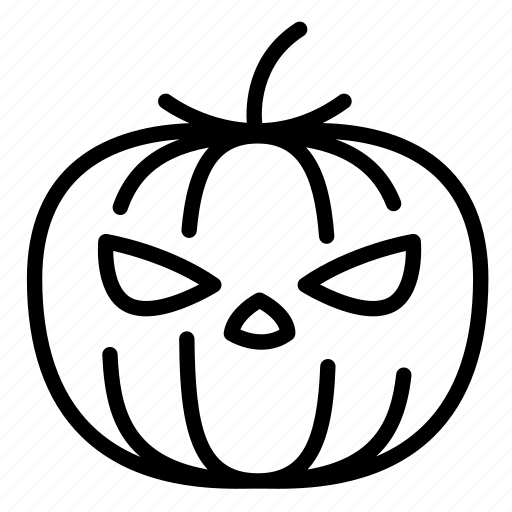 angry, evil, face, halloween, jack o lantern, lantern, pumpkin icon