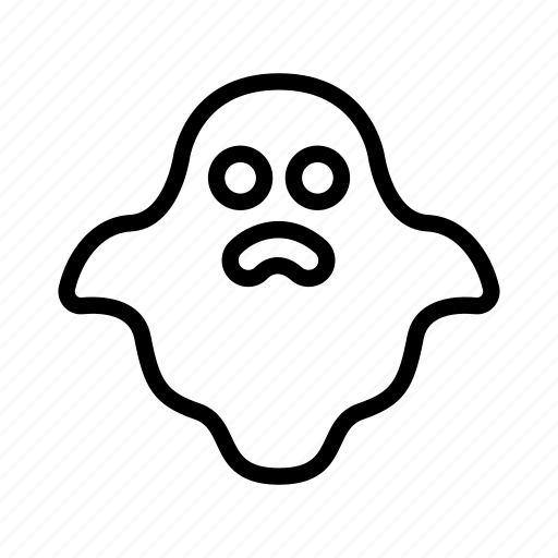 casper, creepy, ghost, halloween, nightmare, spook icon
