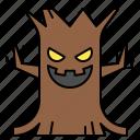 avatar, halloween, spooky, spooky tree, terror icon