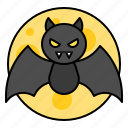 avatar, bat, halloween, spooky, vampire icon