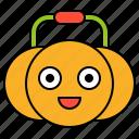 avatar, basket, halloween, pumpkin, spooky
