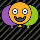 avatar, balloon, halloween, spooky, toy icon