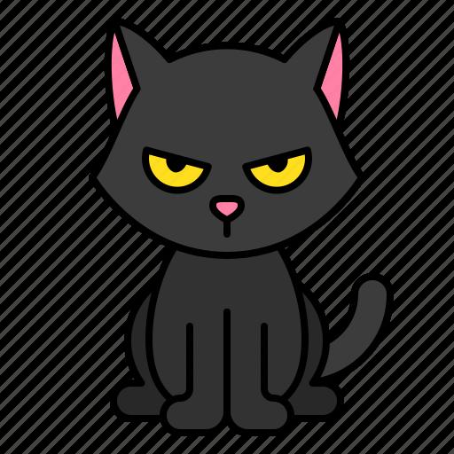 animal, avatar, cat, halloween, pet, spooky icon