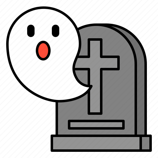 avatar, ghost, grave, halloween, spooky icon