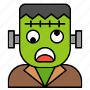 avatar, frankenstein, halloween, spooky icon