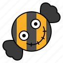 candy, food, halloween, spooky, sweets icon