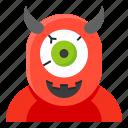 avatar, cyclops, halloween, monster, spooky