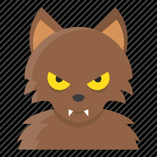 avatar, halloween, spooky, werewolf icon