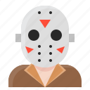 avatar, halloween, jason, spooky icon
