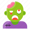 avatar, halloween, spooky, zombie icon