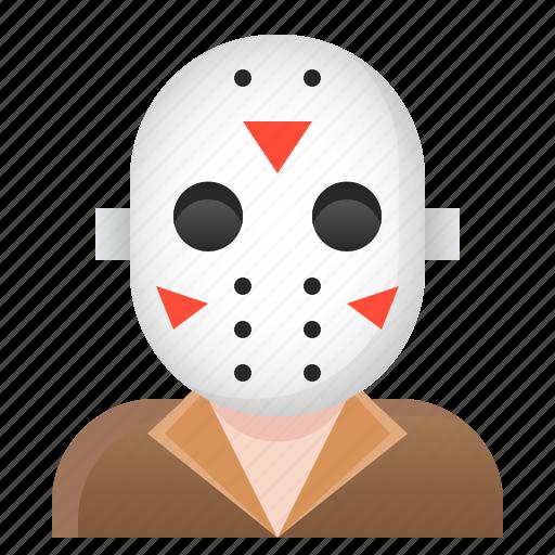 avatar, halloween, jason, spooky icon