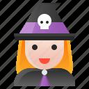 avatar, halloween, spooky, witch, wizard icon
