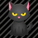 animal, avatar, cat, halloween, pet, spooky