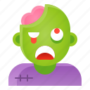 avatar, halloween, spooky, zombie icon