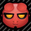 demon, devil, diablo, evil, hell, hellboy, monster