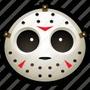 halloween, hockey, horror, jason, mask, scary, slasher icon