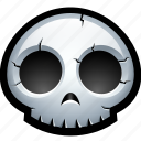 bones, death, halloween, horror, skeleton, skull, spooky