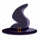 cartoon, creepy, decoration, fun, halloween, holiday, magic hat icon