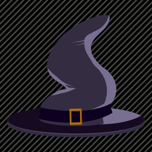 cartoon, creepy, decoration, fun, halloween, holiday, magic hat icon