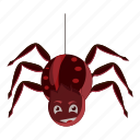 cartoon, decoration, fun, ghost, halloween, monster, spider