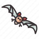 bat, halloween, speedy icon