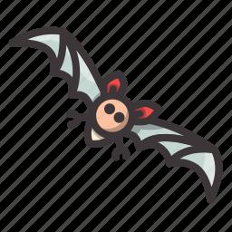 bat, halloween, speedy icon