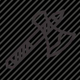 axe, bloody, halloween icon