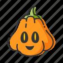 decoration, halloween, holiday, pumpkin icon