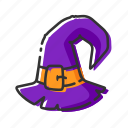 fashion, halloween, hat, witch
