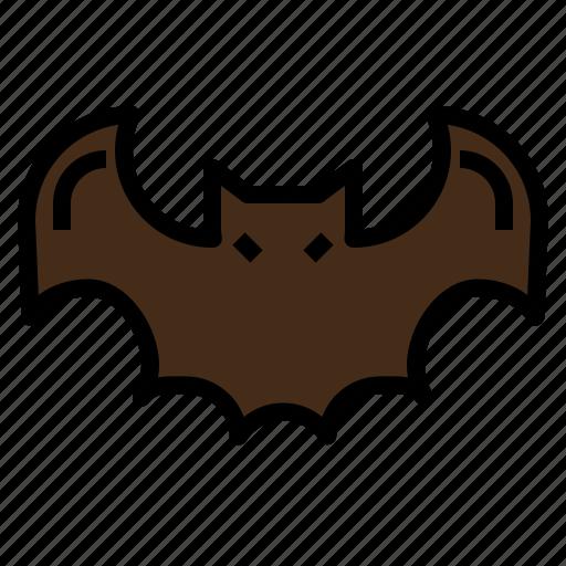 bat, halloween, horror, scary icon
